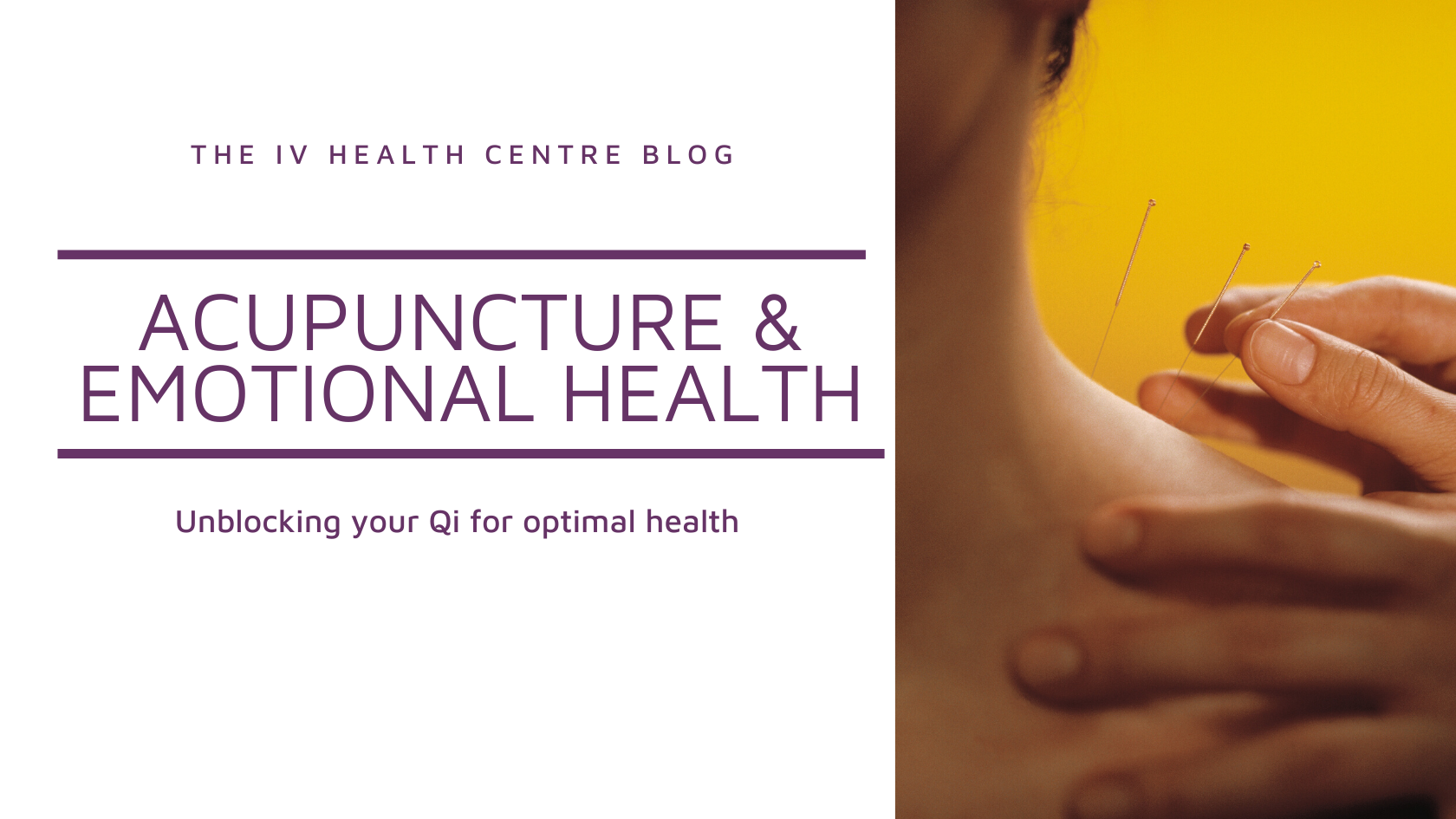 Acupuncture and Emotional Health
