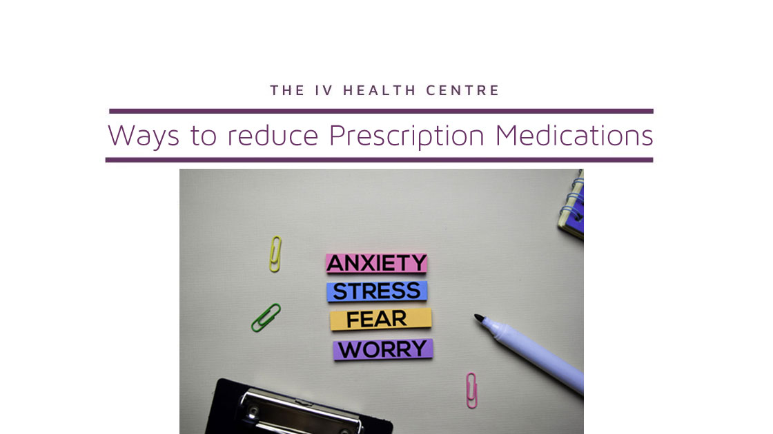 Ways to Reduce Prescription Medications