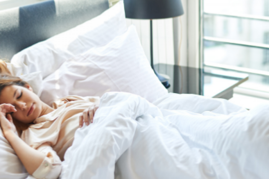Healthy habits for a better night's sleep